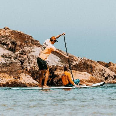 single sup lesson (paddleboard)